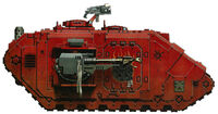 The Sanctified Land Raider2