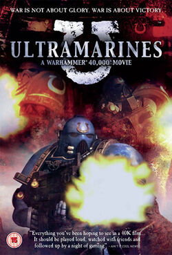 Ultramarines - A Warhammer 40,000 Movie DVD cover