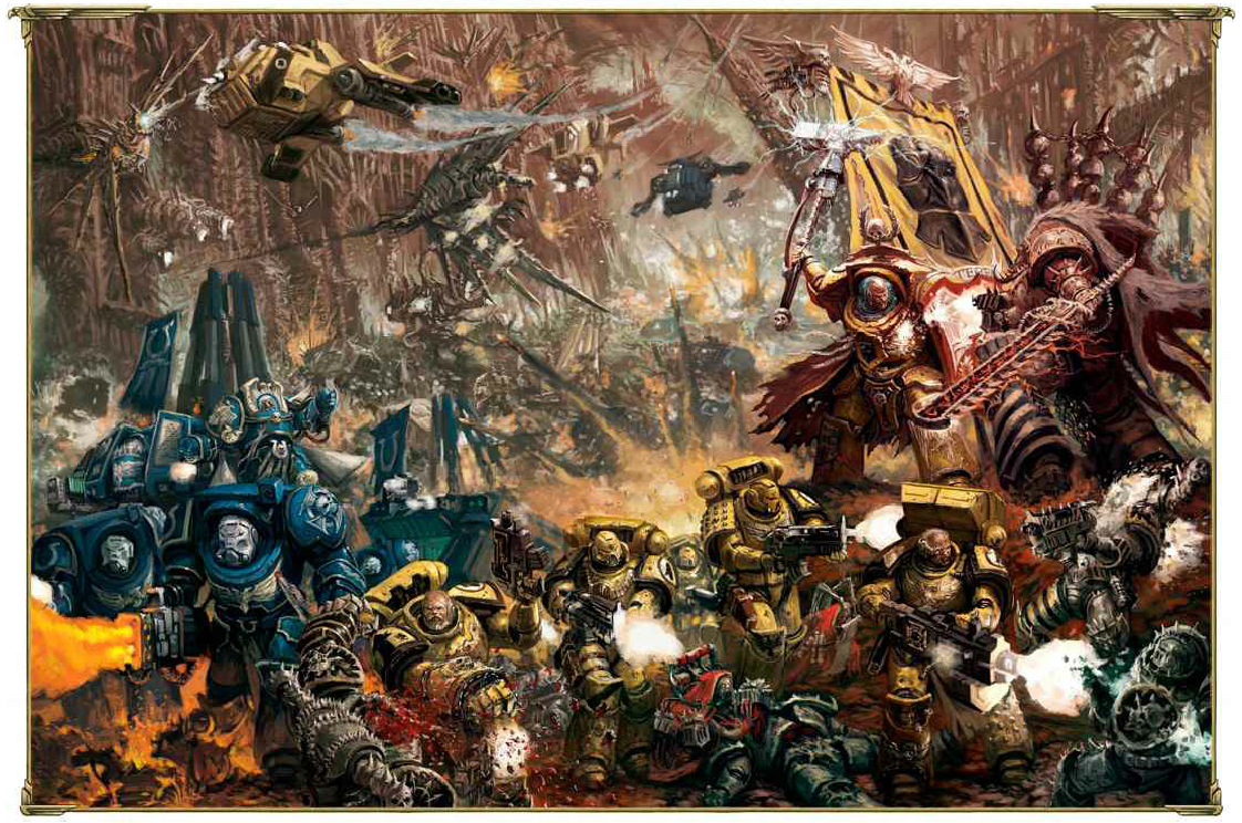 image - if & um vs. chaos | warhammer 40k | fandom poweredwikia