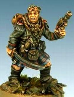 Finreht Highlander officer