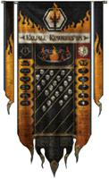 Legio Infernus Warlord Honour Banner