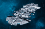 Lar'shi (Hero)-class Starship