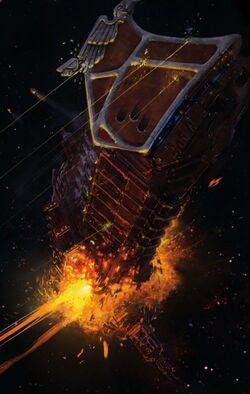 Destruction Imperial Tithe Fleet