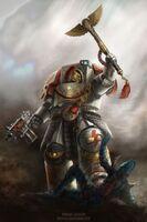 Fan Art, Horus Heresy, WS, Terminator, Chaplain