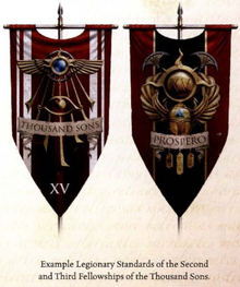 Thousand Sons Legion Banners