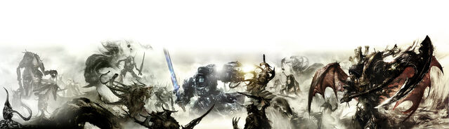 File:Forces of Chaos vs Grey Knights.jpg