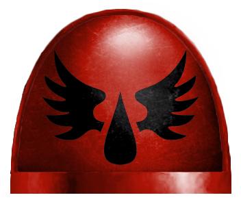 *BITS* 5x Blood Angels Tactical Squad Backpack F