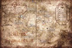 Pale Stars Galaxy Map Carta Imperialis