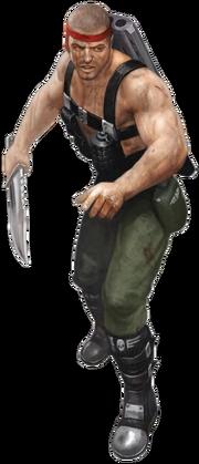 Catachan Trooper