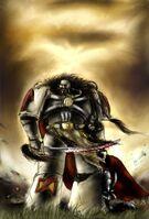 Fan Art, WS, Old warrior