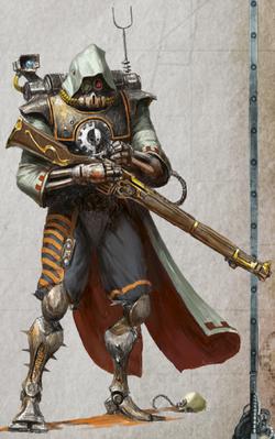Gryphonne IV Skitarii