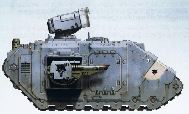 File:Space Wolves Landraider Helios Bran Redmaw's Great Company.png