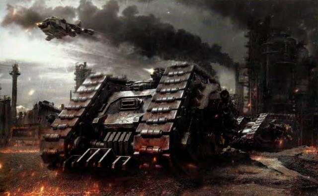 File:Chaos Land Raider Proteus Battle.png