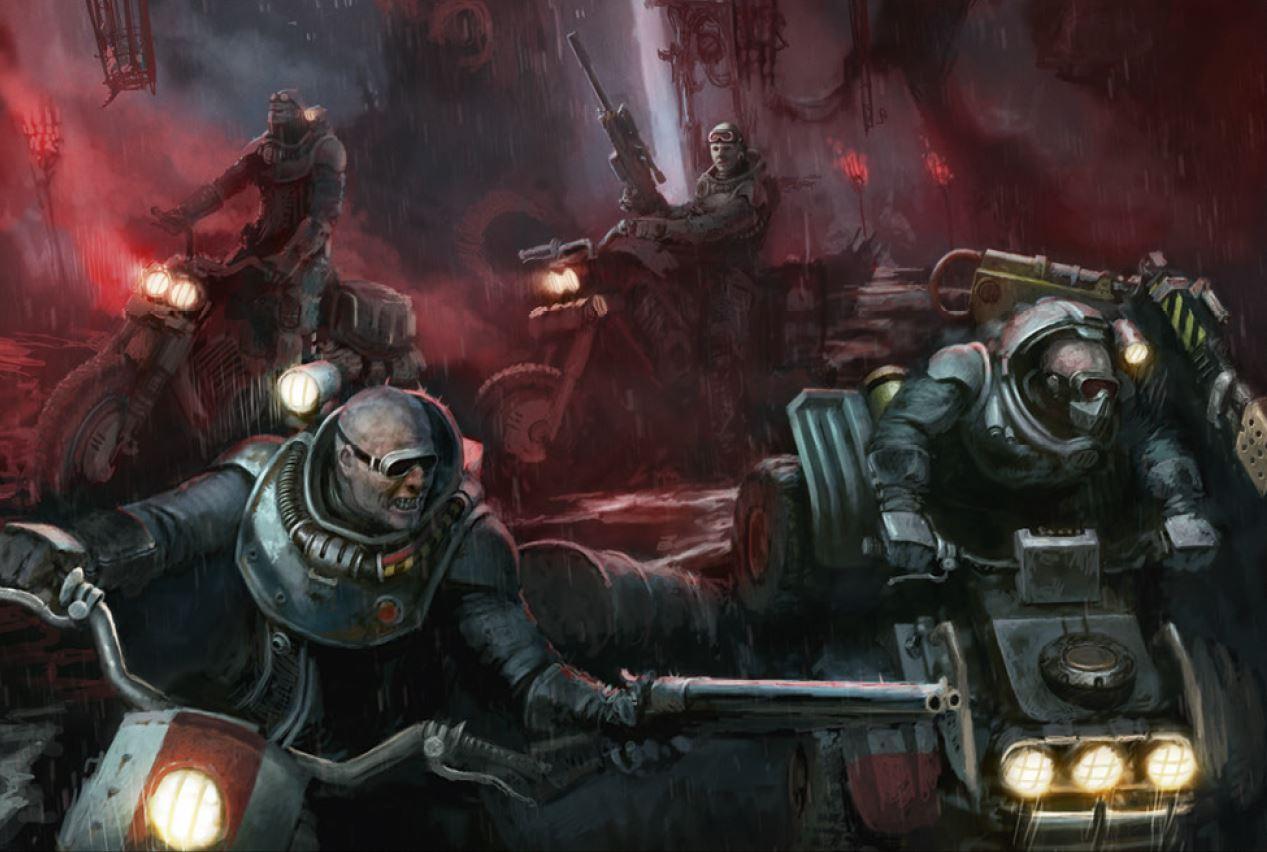Warhammer 40K Genestealer Cults Atalan Jackals new