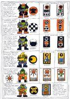 Ghazghkull's Goff Warband Symbols 2