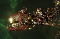 Ork Ravager Attack Ship