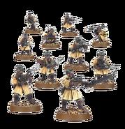 Steel Legion Squad Miniature