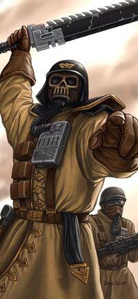 Armageddon Steel Legion-Colonel Krone