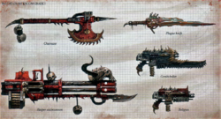ChaosSpaceMarineWeapons