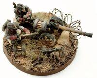 Death Korps of Krieg Autocannon Crew