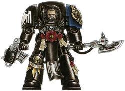 Raven Guard Librarian Terminator
