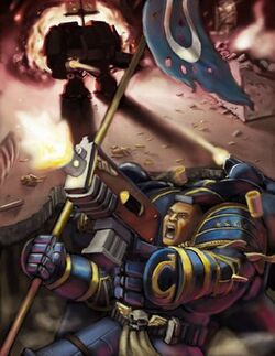 Ultramarines Librarian Great Crusade