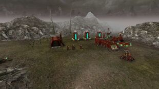 8. All thats left of encampment