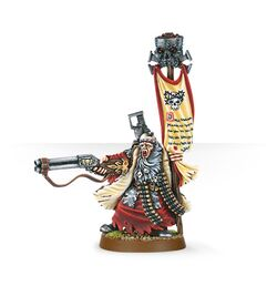 Uriah Jacobus Adepta Sororitas 2nd Edition miniature
