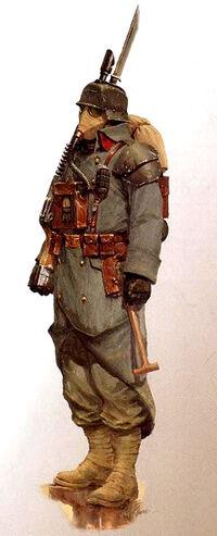 Krieg Soldier