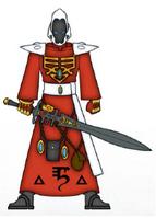 A Saim-Hann Warlock