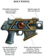 Ahriman's Bolt Pistol