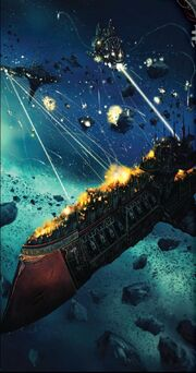 Battlefleet Corribra Vessel