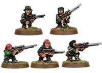 Imperial Guard Ratlings Sniper Team (Old)