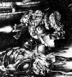 Hearthguard & Dead Ork
