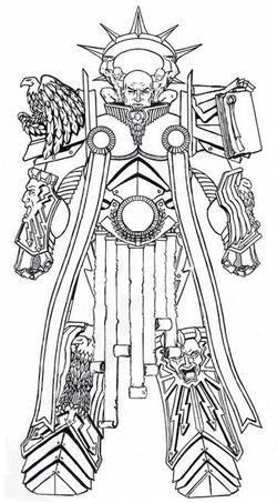 Primarch Lorgar sketch
