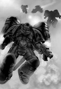Dark angels warhammer 40k fandom powered by wikia the descent of angels fandeluxe Choice Image