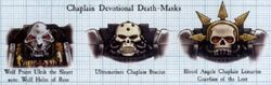Devotional Death Masks