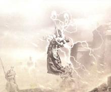 Sisters of Silence in battle on Prospero