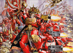 Blood Angels Cover