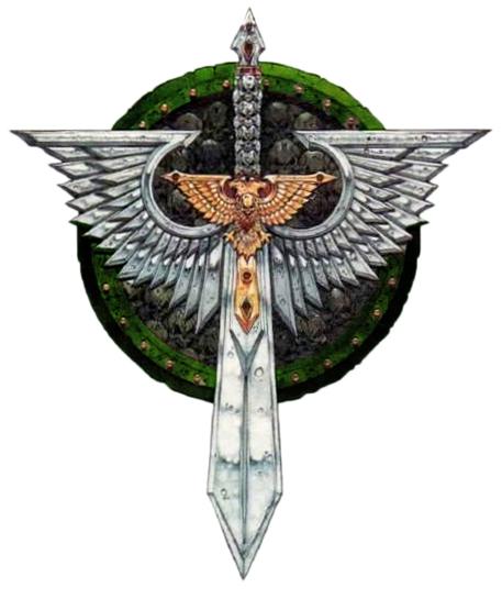 Dark Angels RAVENWING chapitre icône//Symbole-bits 40K