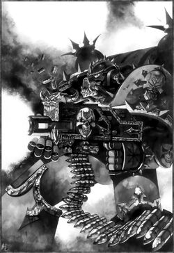 Iron Warrior Chaos Space Marine