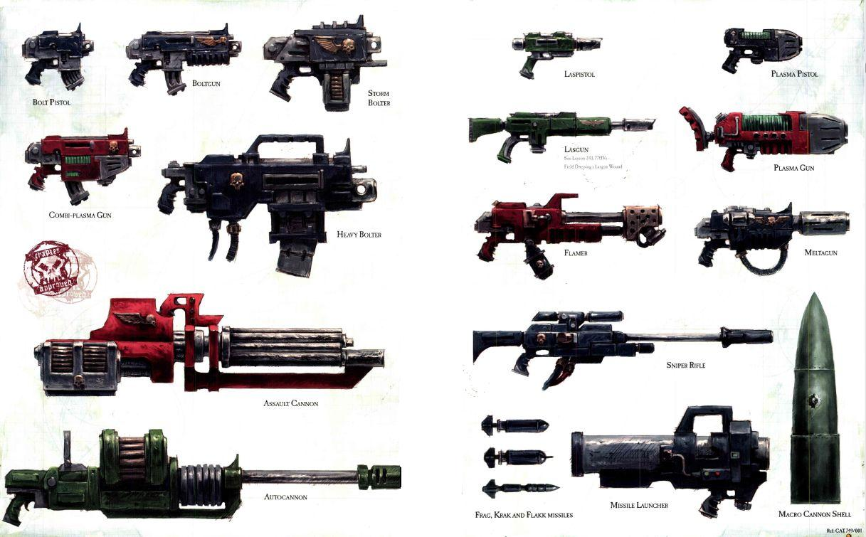weapons of the imperium warhammer 40k fandom powered by wikia
