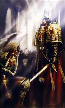 Sanguinius & The Emperor