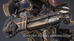 Warlord Titan Weapons and Lucius - Alpha Head