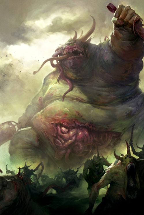 Great Unclean One Warhammer 40k Fandom Powered By Wikia