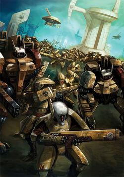 Tau Empire Attacks by nanya