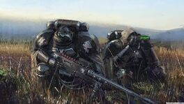 Space marine snipers