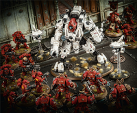 Blood Angels Vs XV95 Ghostkeel Battlesuit