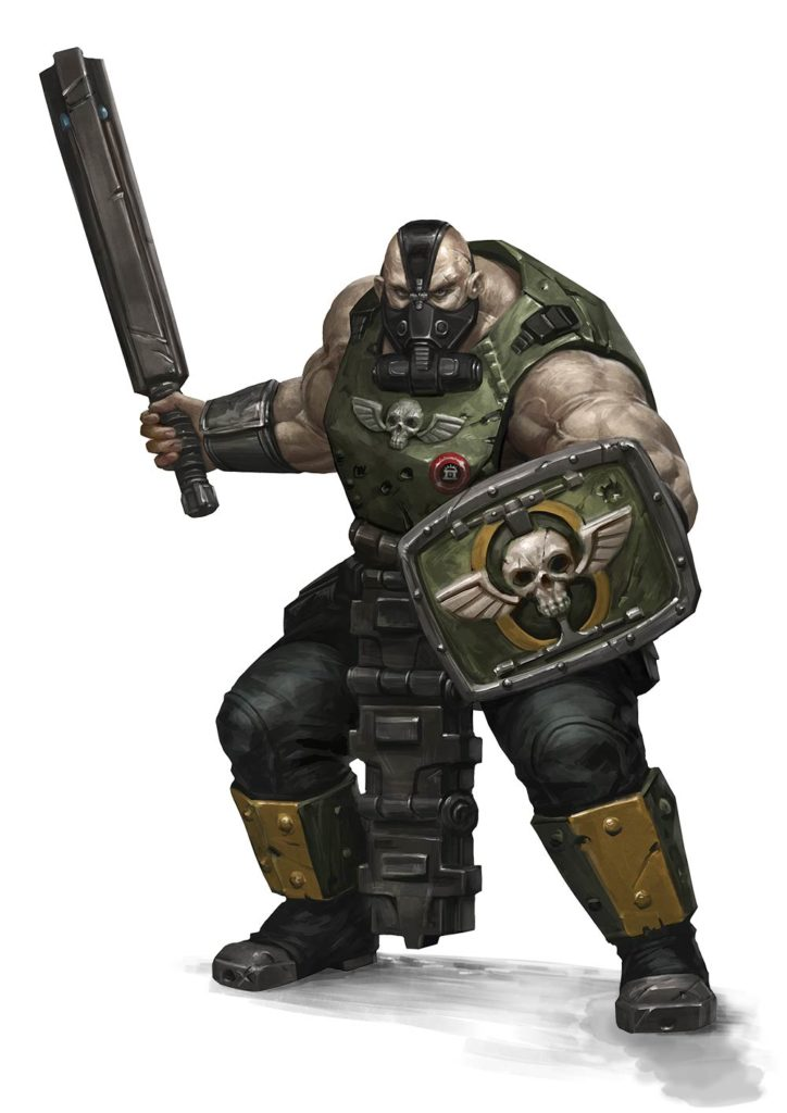 Ogryn Warhammer 40k Fandom Powered By Wikia