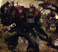 Ork Nobs Charge